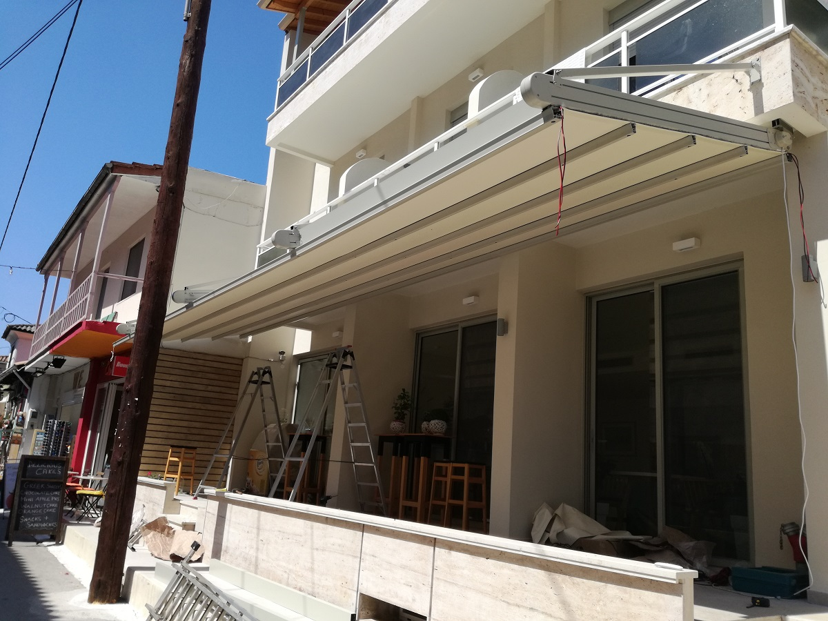 Hanging Moving Pergola
