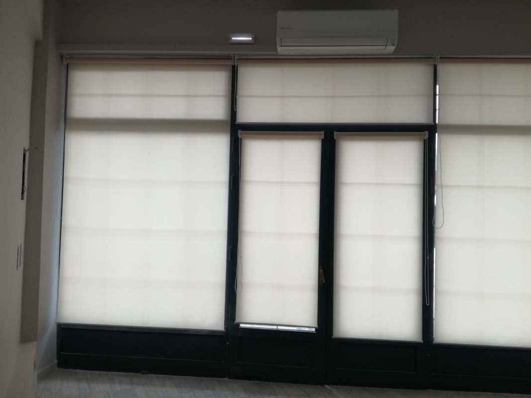 INDOOR SHADE-ROLLER BLINDS